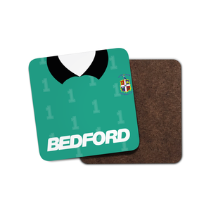 Luton Town 1990 Keeper Coaster-Coaster-The Terrace Store