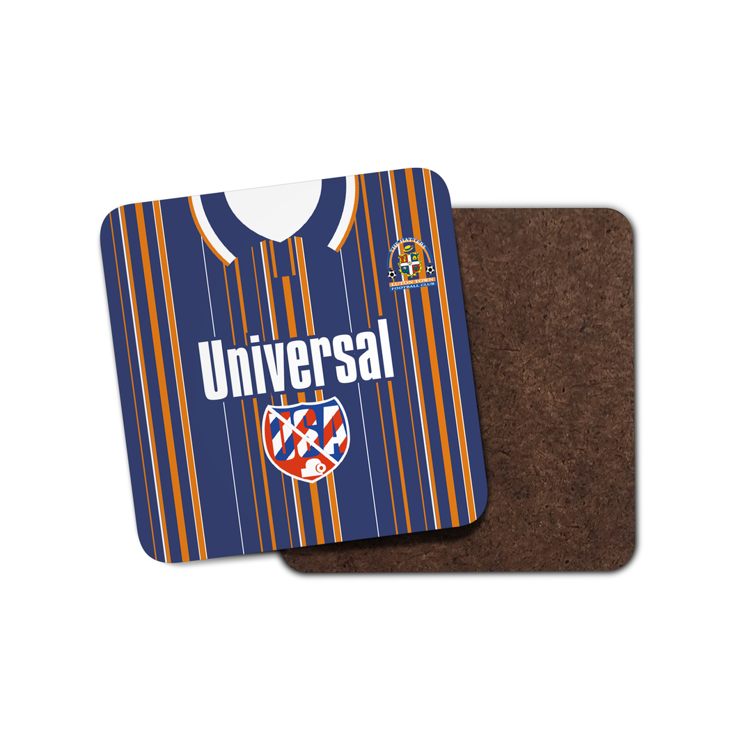 Luton Town 1995 Away Coaster-Coaster-The Terrace Store