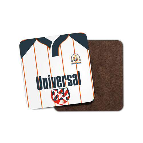 Luton Town 1995 Home Coaster-Coaster-The Terrace Store