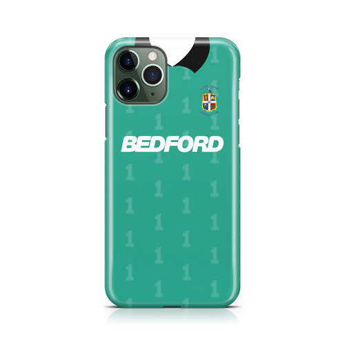 Luton Town 1990 Keeper Phone Case-CASES-The Terrace Store
