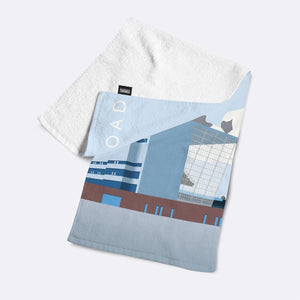 Maine Road Illustrated Towel-Towels-The Terrace Store