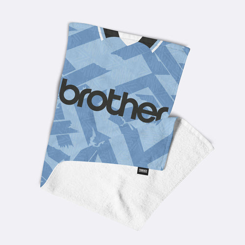 Man City '92 Home Towel-Towels-The Terrace Store