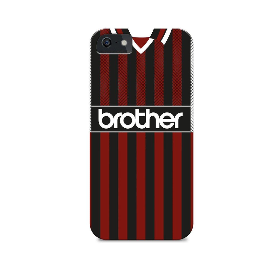 Man City 1995 Away Phone case-CASES-The Terrace Store