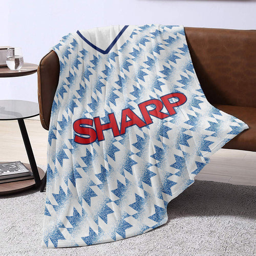 Man United 1992 Away Retro Blanket Throw-Blanket-The Terrace Store