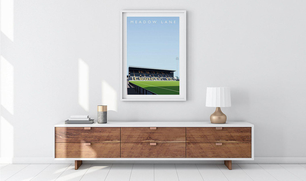 Meadow Lane Illustrated Poster-Posters-The Terrace Store