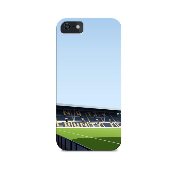 meadow lane football gift illustrated phone case