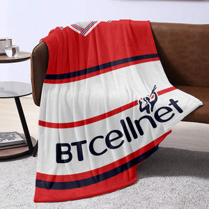 Middlesbrough 2001 Retro Blanket Throw-Blanket-The Terrace Store