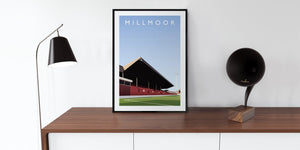 Millmoor Illustrated Poster-Posters-The Terrace Store