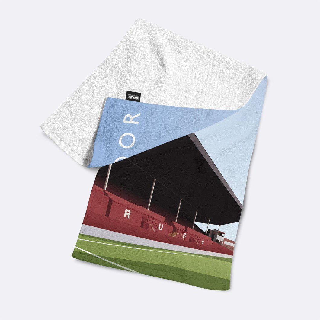 Millmoor Illustrated Towel-Towels-The Terrace Store