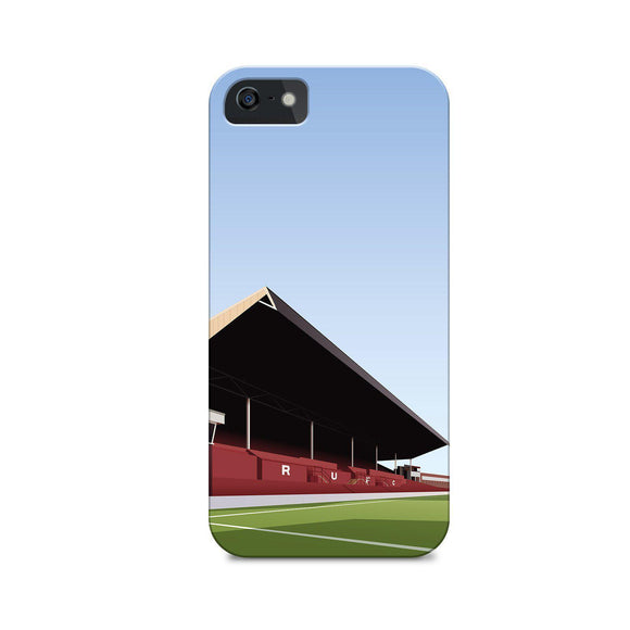 millmoor rotherham football gift illustrated phone case
