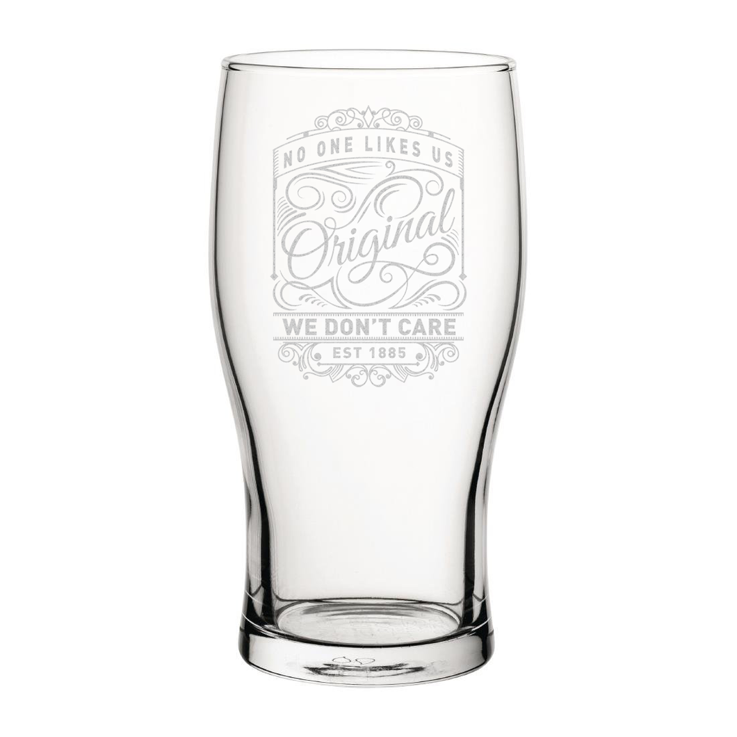 Millwall Originals Engraved Pint Glass-Engraved-The Terrace Store