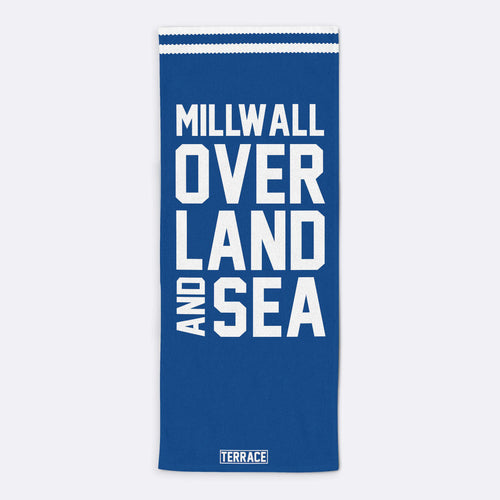 Millwall Over Land & Sea Beach Towel