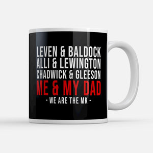 MK Dons Players Fathers Day Mug-Mugs-The Terrace Store