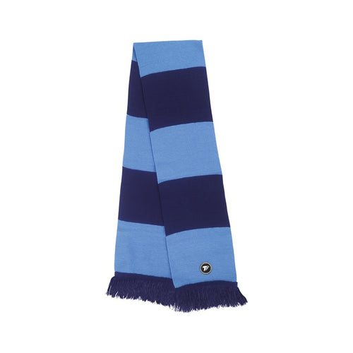 Terrace Navy & Sky Bar Scarf