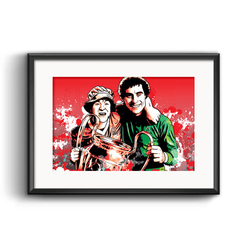 Nottingham Forest European Cup Commemorative Print