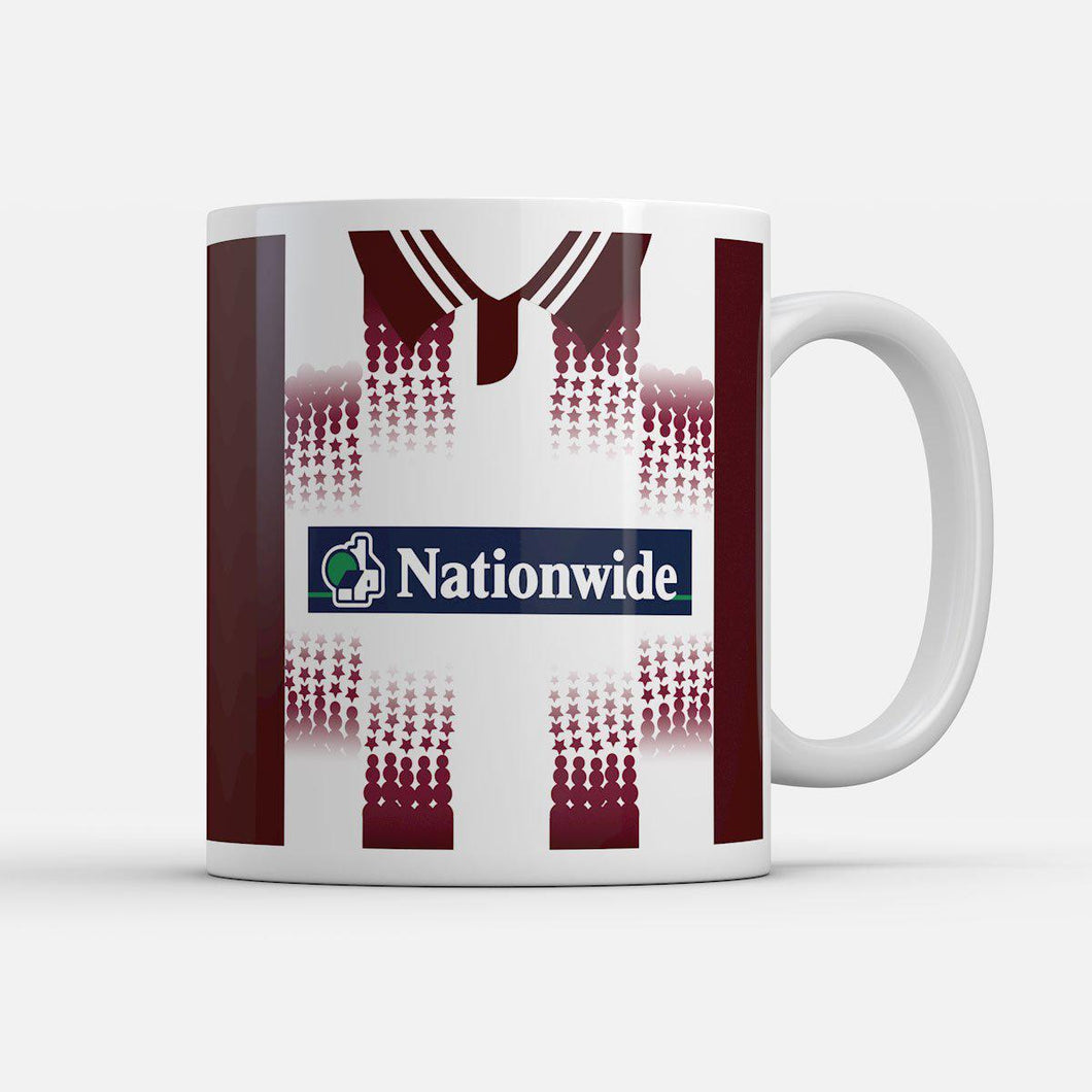 Northampton Town 1998 Home inspired Mug-Mugs-The Terrace Store
