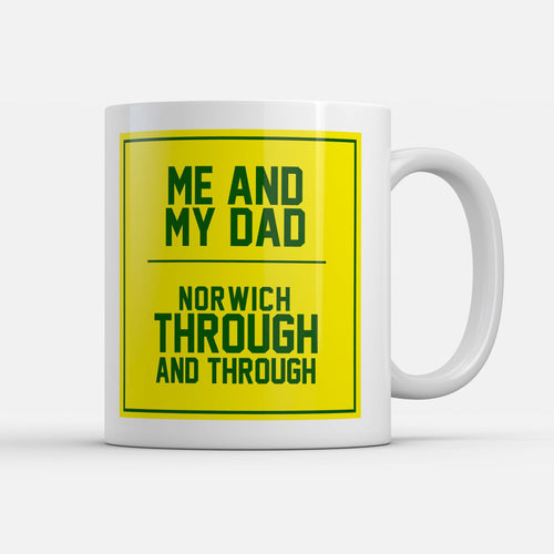 Norwich Fathers Day Mug-Mugs-The Terrace Store
