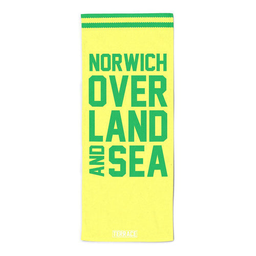 Norwich Over Land & Sea Beach Towel