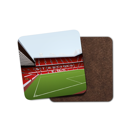 Old Trafford Illustrated Coaster