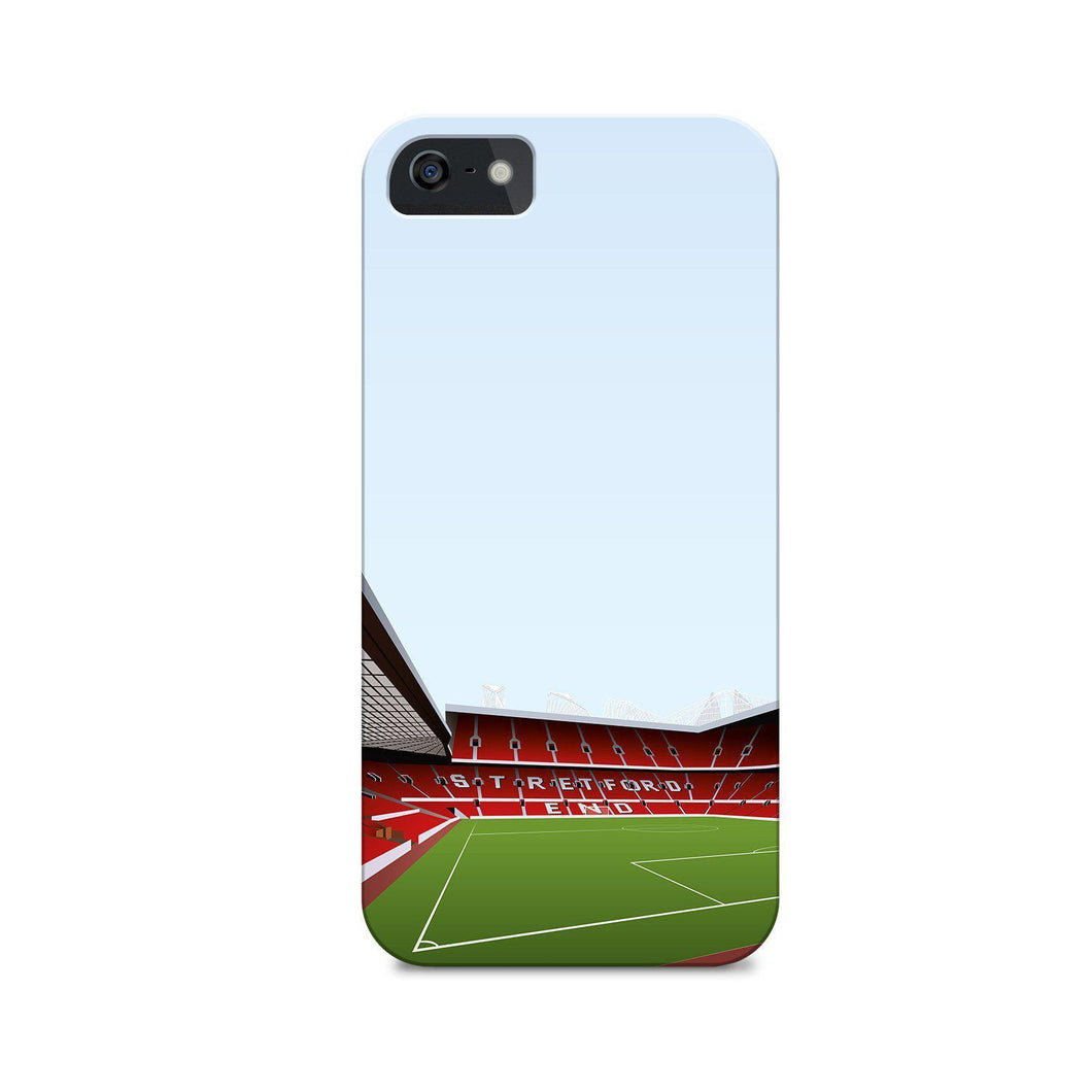 Old Trafford Illustrated Phone Case-CASES-The Terrace Store