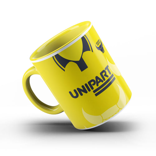 Oxford United 1996 Limited Edition Yellow handle & Inner Mug