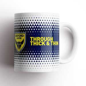 Oxford United Thick and Thin Mug-Mugs-The Terrace Store