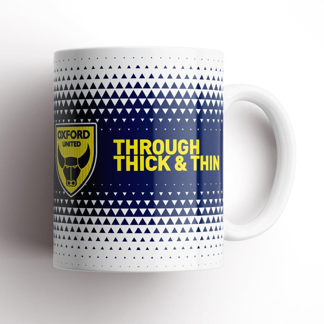 Oxford United Thick and Thin Mug