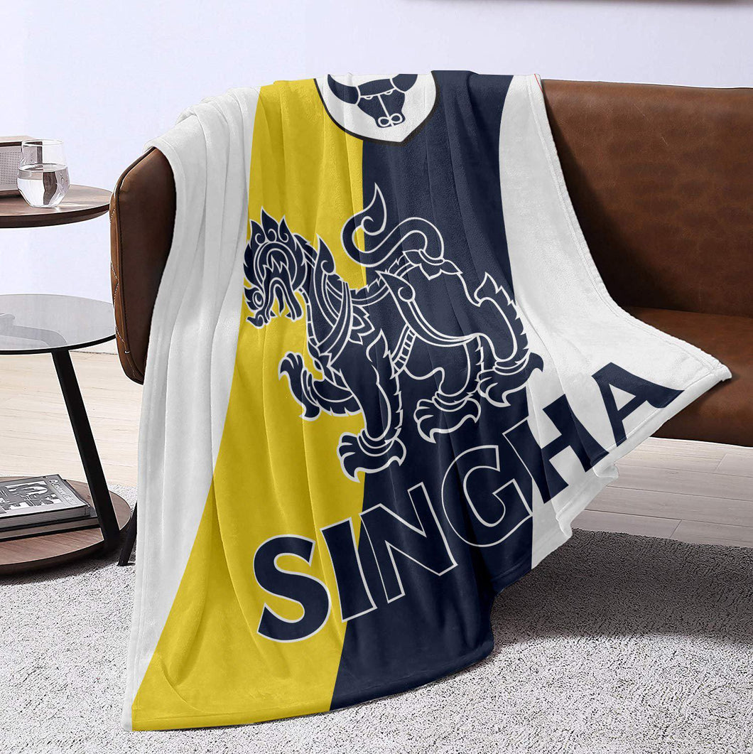 Oxford United 19/20 Away Blanket Throw