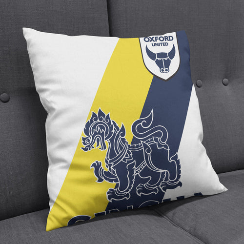 Oxford United 19/20 Away Cushion-Cushions-The Terrace Store