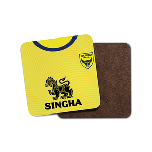 Oxford United 19-20 Home Coaster-Coaster-The Terrace Store