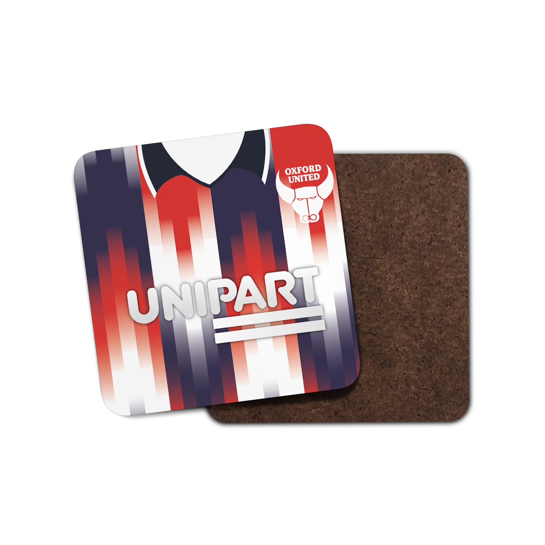 Oxford United 1993 Away Coaster-Coaster-The Terrace Store