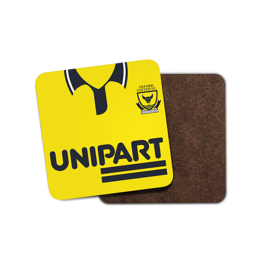 Oxford United 1993 Home Coaster-Coaster-The Terrace Store