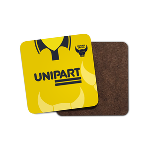 Oxford United 1996 Home Coaster-Coaster-The Terrace Store