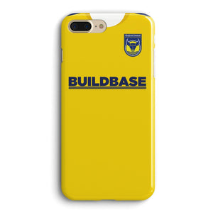 Oxford United 2010 Home Phone Case-CASES-The Terrace Store