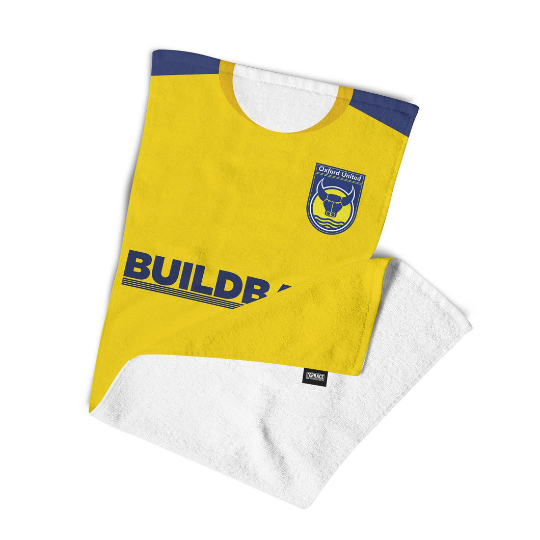 Oxford United 2010 Home Towel-Towels-The Terrace Store