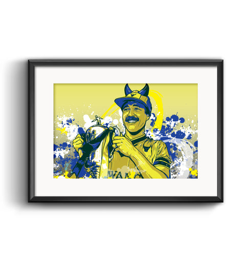 Oxford United 1986 Limited Edition Print