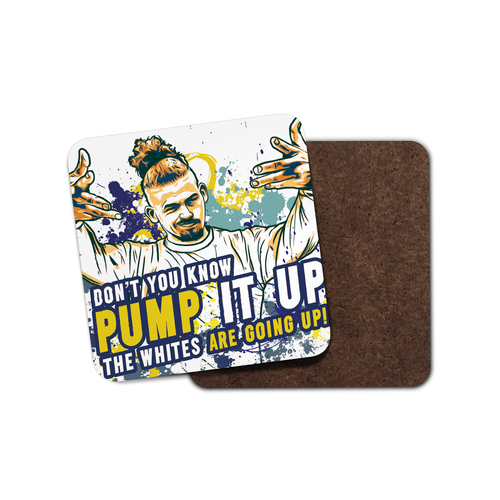 Grady Draws Leeds Phillips Pump It Up Coaster