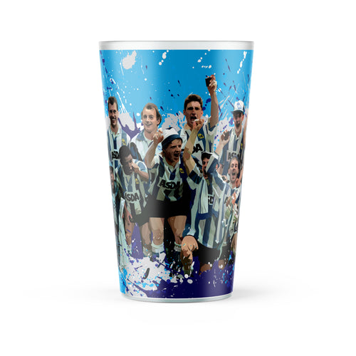 Sheffield Wednesday '91 Final illustrated Re-Usable Pint Cup
