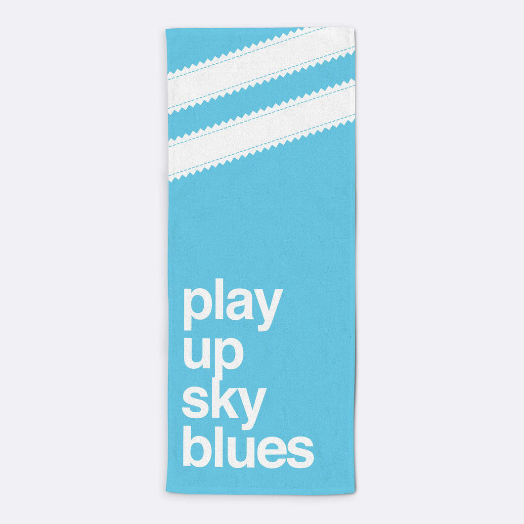 Play Up Sky Blues Towel-Towels-The Terrace Store
