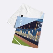 Load image into Gallery viewer, Plough Lane Illustrated Towel-Towels-The Terrace Store