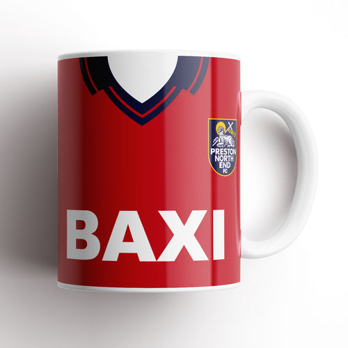 Preston North End 1997 Away Kit Mug