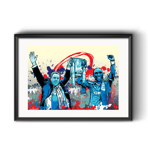 Portsmouth FA Cup Commemorative Print