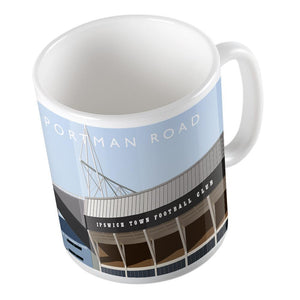 Portman Road Illustrated Mug-Mugs-The Terrace Store