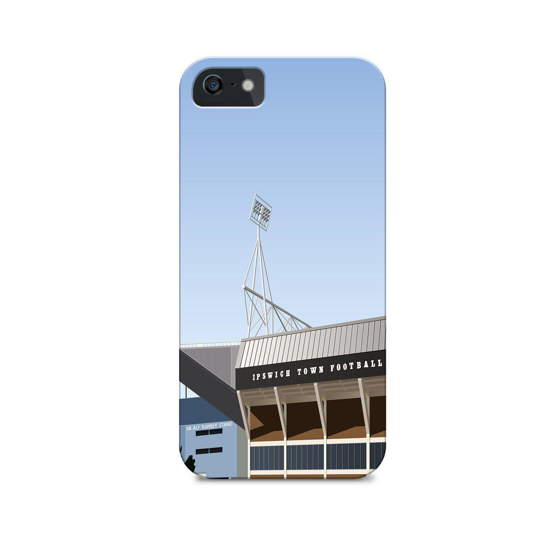 Portman Road Illustrated Phone Case