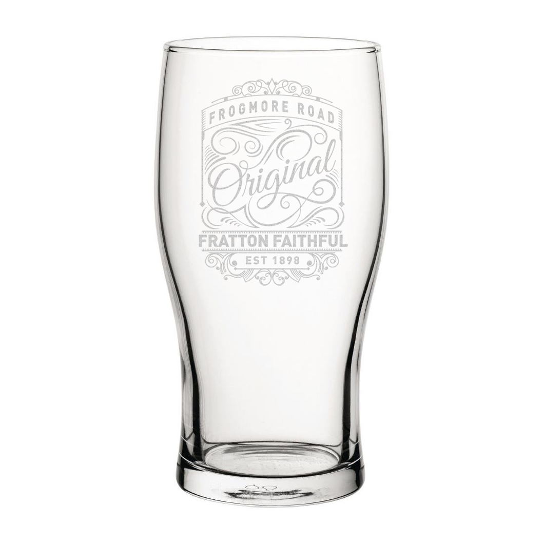 Portsmouth Originals Engraved Pint Glass-Engraved-The Terrace Store