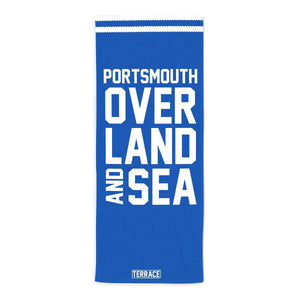 Portsmouth Over Land & Sea Beach Towel-Towels-The Terrace Store