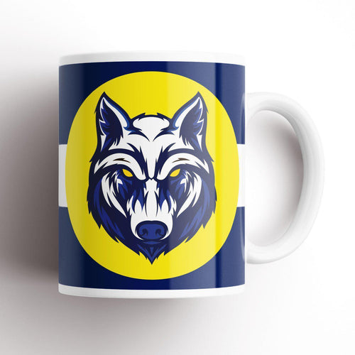 Preston Wolf Mug-Mugs-The Terrace Store