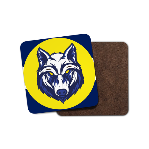 Preston Wolf Coaster-Coaster-The Terrace Store