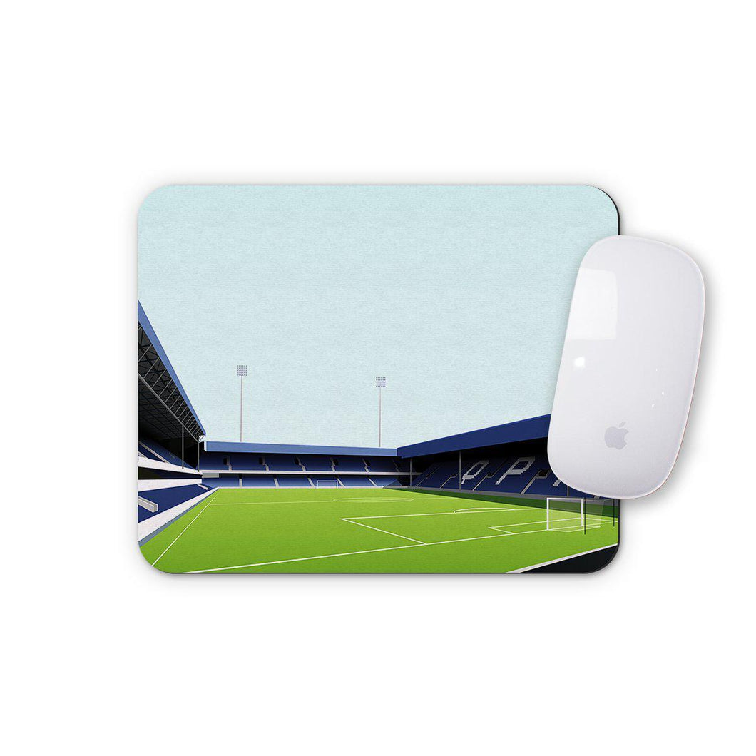 Loftus Road Illustrated Mouse Mat-Mouse mat-The Terrace Store