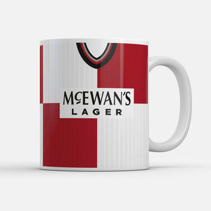 Rangers 1995 Away Retro Inspired Mug-Mugs-The Terrace Store